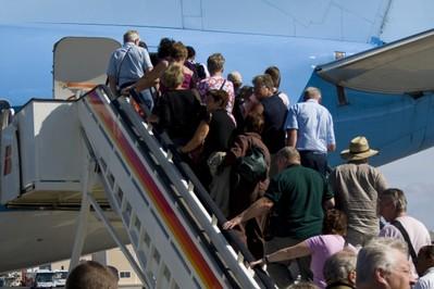 10 najbardziej irytujących zachowań w samolocie