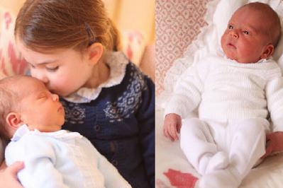 Mały książę Louis - tak wygląda syn Kate i Williama!
