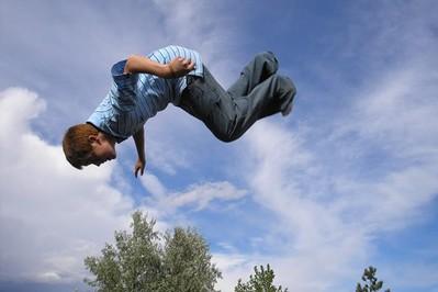 Trampolina - skacz dla zabawy, skacz dla zdrowia!