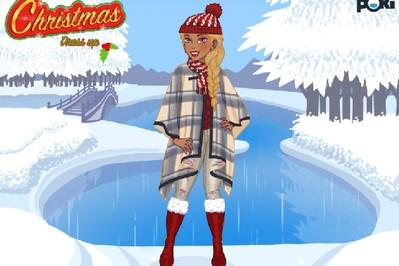 Świąteczna gra ubieranka od Poki