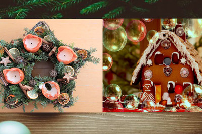 Pomysły na dekoracje świąteczne - PROSTE I CIEKAWE