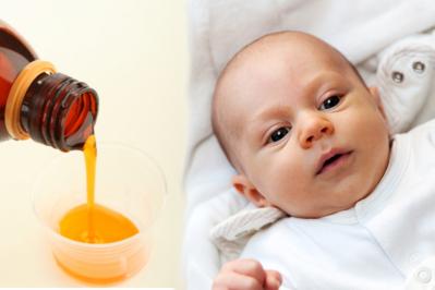 Syrop na kaszel dla niemowląt