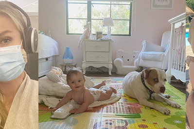 Joanna Krupa pokazała pokój, który urządziła dla córki w Polsce