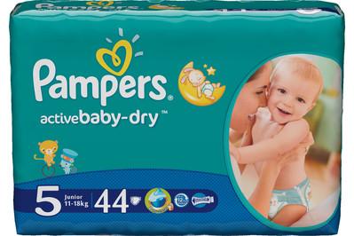Udoskonalone pieluszki Pampers Active Baby-Dry