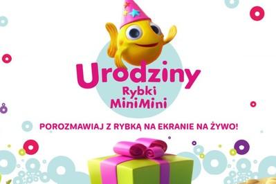 Przygoda trzecia: Urodziny Rybki MiniMini!