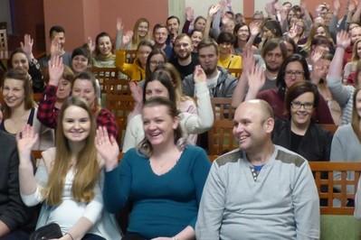 """Świetna atmosfera w Olsztynie na warsztatach dla kobiet w ciąży """"Przygoda z macierzyństwem""""!"""