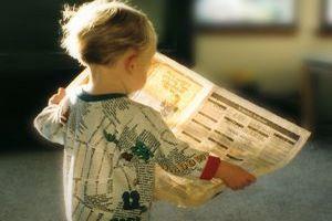 Wspólne zabawy z ... gazetami :-)