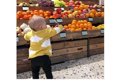 Anna Lewandowska już uczy Klarę zdrowego odżywiania