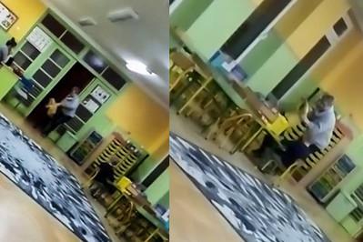 Opiekunka rzuciła dzieckiem w przedszkolu – nagranie trafiło do sieci!