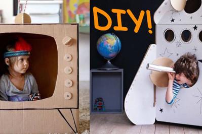 DIY - rozwijamy dziecięcą wyobraźnię!