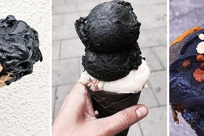 MAPA LODZIARNI!  Czarne lody, które chce zjeść każde dziecko!