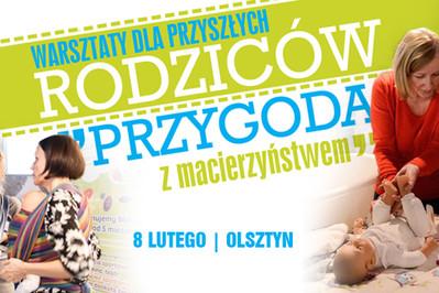 """Bezpłatne warsztaty: """"Przygoda z macierzyństwem"""" w Olsztynie już 8-go lutego! Zapisz się!"""