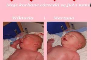 """Wiktoria i Martyna """"Nasze narodziny"""""""