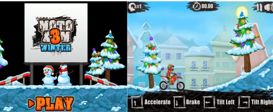 Moto X3M 4: Winter – przeglądarkowa gra motocyklowa dla każdego!