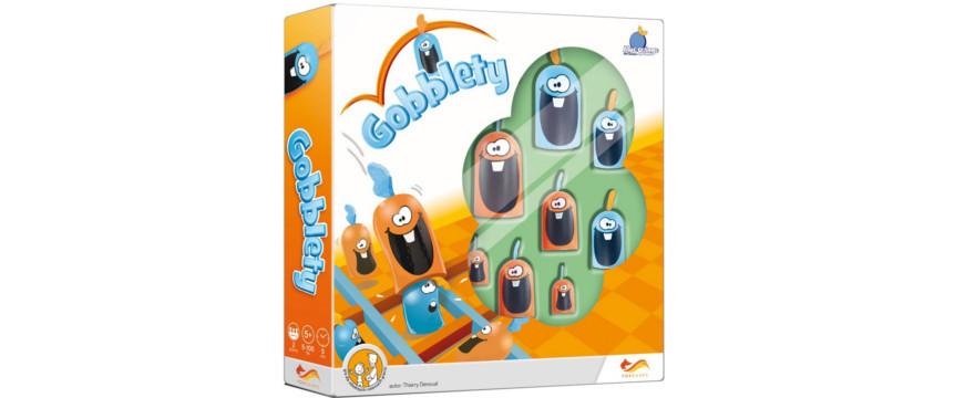 Gobblety - gra planszowa dla całej rodziny.
