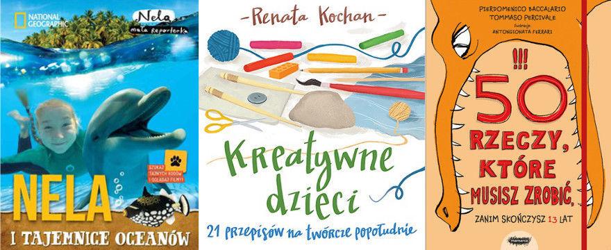 Nowości wydawnicze dla dziecka i rodzica – TOP 5 CZERWCA