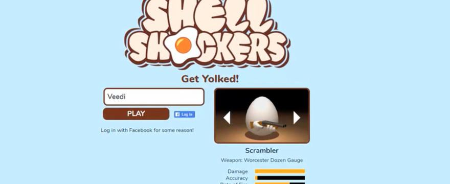 Zabawna Trójwymiarowa Strzelanka, czyli Shell Shockers