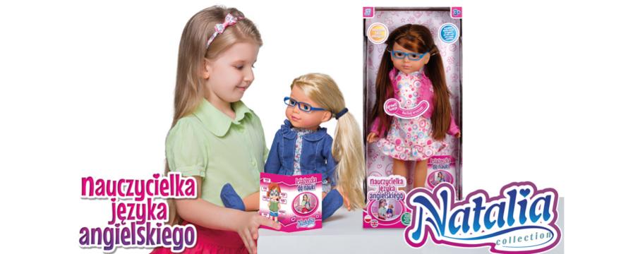 Nauka poprzez zabawę – lalka do nauki angielskiego!