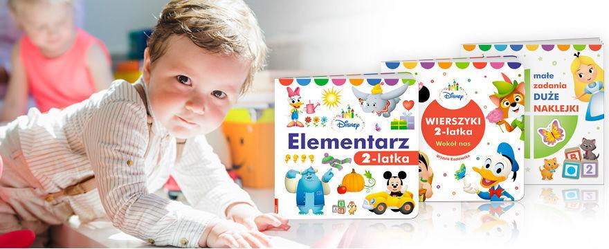 Pierwsze książki na start dla dziecka!