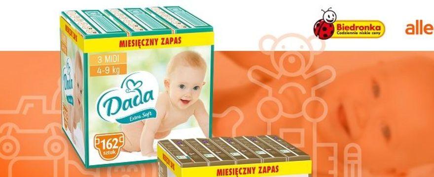 Produkty Dada bez wychodzenia z domu – na Allegro rusza pierwszy sklep marki własnej Biedronki