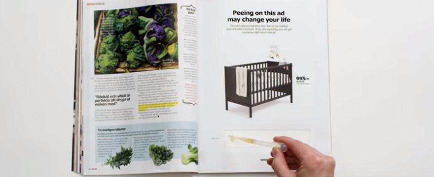 Jesteś w ciąży? Sikaj na reklamę i skorzystaj ze zniżki!