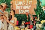 Marina i Wojtek: pierwsze urodziny Liama w stylu afrykańskim!