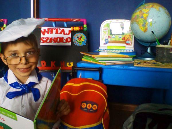 Przygotowania pełną parą ....do szkoły.